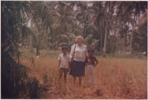 Mom in Indonesia
