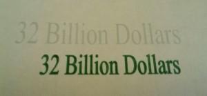 32 billion